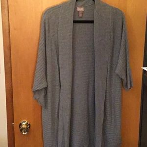 Chico's Light Grey Pull On Sweater Size I